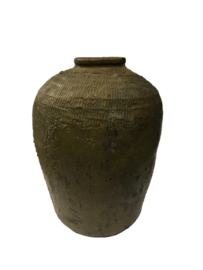 PTMD oude kruik groen/bruin - II