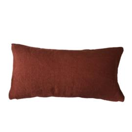 Kussen ML Fabrics - Salta - Brick 30 x 60