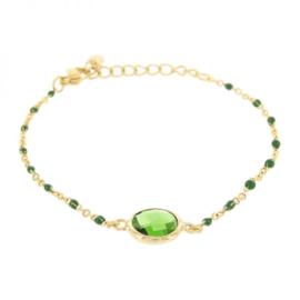 Kalli armband 2589 - Groen