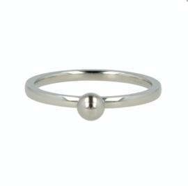 My Bendel - Ring met bol - Zilver
