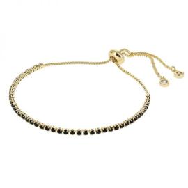 Kalli armband 2584 - Zwart/Goud