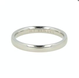 My Bendel - Ring - glad- Zilver