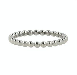 My Bendel - Ring - bollen - Zilver