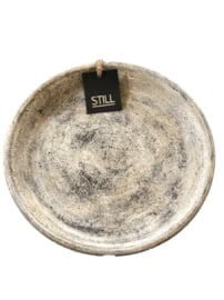 Still bowl flat / plate -  Smokey Grey