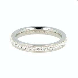 My Bendel - Ring - Zirkonia - Zilver