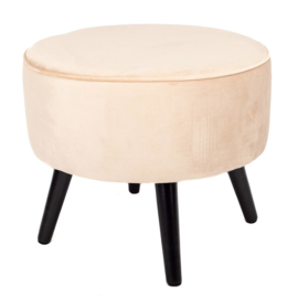 Home Society footstool Tess - Beige