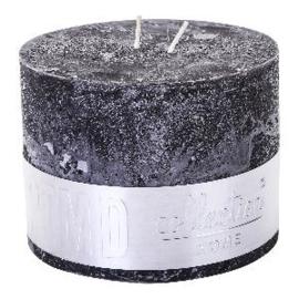 PTMD kaars Charcoal Black  9 x 12
