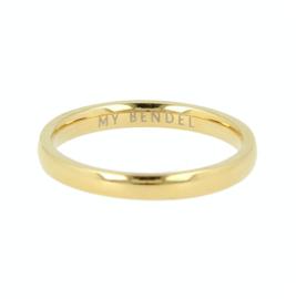 My Bendel - Ring - glad- Goud