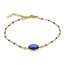 Kalli armband 2589 - Blauw