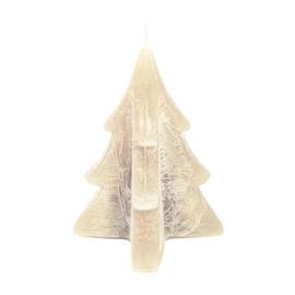 Home Society - kaars kerstboom - Taupe