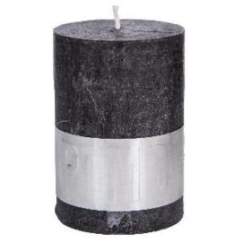 PTMD kaars Charcoal Black 10 x 7