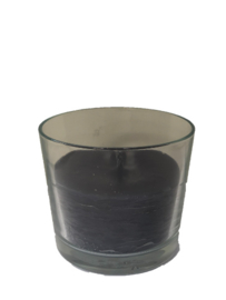 Buitenkaars in glas - Dark Grey