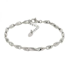 Kalli schakelarmband 2512 - Zilver