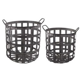 Home Society - metal basket - S