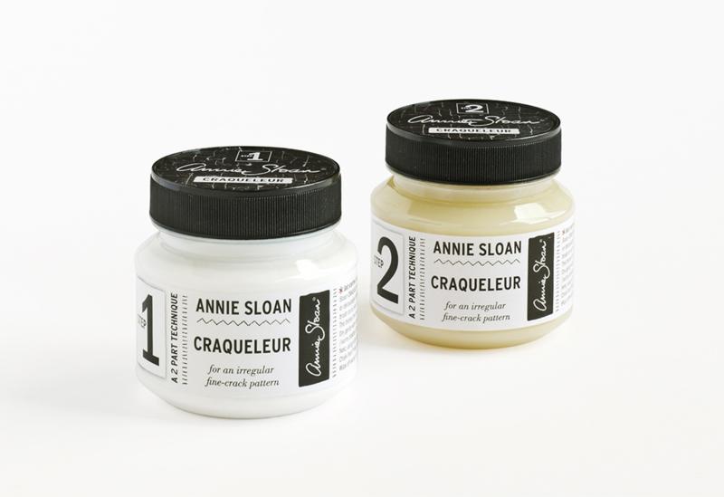 Annie Sloan Craqueleur stap 1 en 2