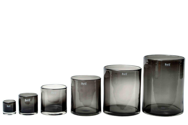 Dutz cylinder vaas - Smoke - XL