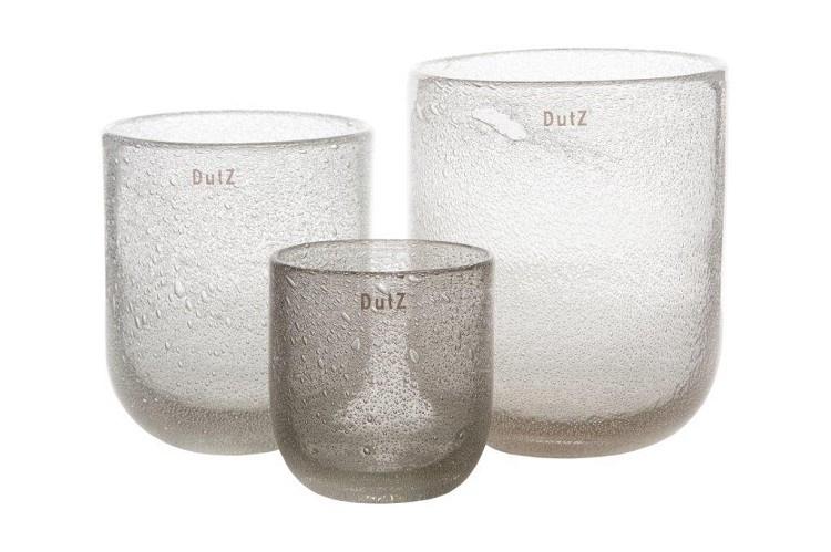 Dutz vaas -  Clear Bubble - S