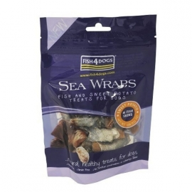 Sea Wraps Sweet Potato zakje 100 Gram.