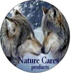 Nature Cares Gedroogde kophuid Wit 70cm