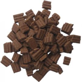 Dinapet Graanvrij, Lam/Zalm Sorghum Sensitive  15 kg 100% tarwe en gluttenvrij (Natuurlijk koud geperste brok)