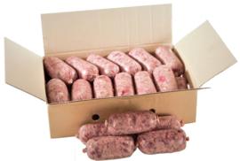 DARF KVV Eko/Bio Vers vlees voor de hond.doos KVV. 19 Worstjes van ca 245gram