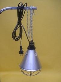 Warmtelamp armatuur (zonder lamp)