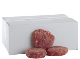 DARF Kat Lam. zit in een doosje met 1,4 kg kvv verdeeld in worstjes van circa 95 gram per stuk.