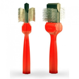 Les Poochs brush, Matzapper, borstel, small (red) Model: c5059