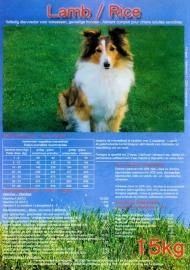 Dinapet Adult Lam/Rijst Premium.(niet meer leverbaar wordt vervangen: door Classic lam/rijst koud geperst.