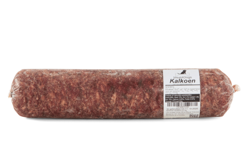 Meat4Dogs : Kalkoen
