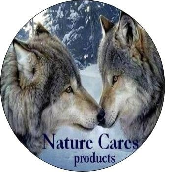 Nature Cares products Zalmolie - fles 500 ml.