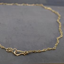 18k geelgouden collier