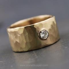 Ring voor Mieke van tante's erfgoud