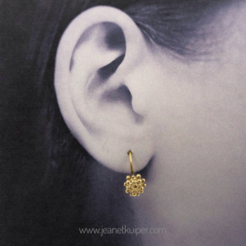 zeeuwsknoopje oorhangers in zilver of 18k geelgoud