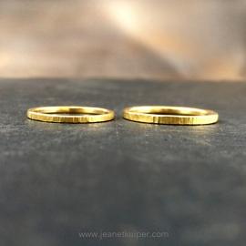 minimalistisch goud