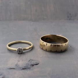 erfgoud: vaders trouwring