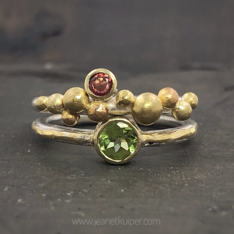 ringen om bij elkaar te dragen