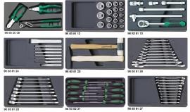 Stahlwille 810/9 gereedschap set 72 delig ABS
