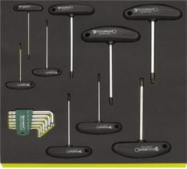 Stahlwille 96830618 Torx T + L sleutel set TCS