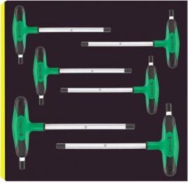 Stahlwille 96838753,  inbus T sleutel set TCS