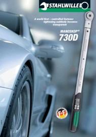 Stahlwille 730D serie, digitale momentsleutels