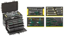 Stahlwille 13217 Mobiele gereedschapskoffers, gevuld 89dlg (kleur naar keuze)