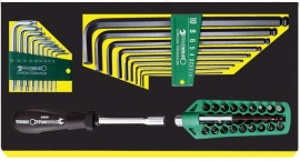 Stahlwille 96838768 Torx en inbus L sleutel + bit set TCS