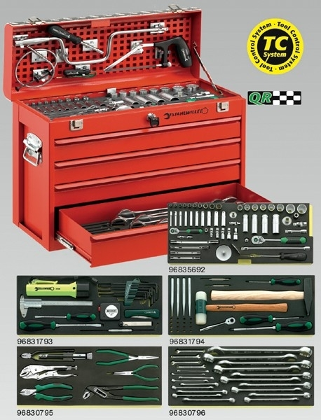 Stahlwille 13214a, Performance toolkit INCH