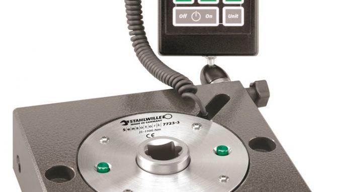 Stahlwille transducer / testbank kalibratie tot 400Nm