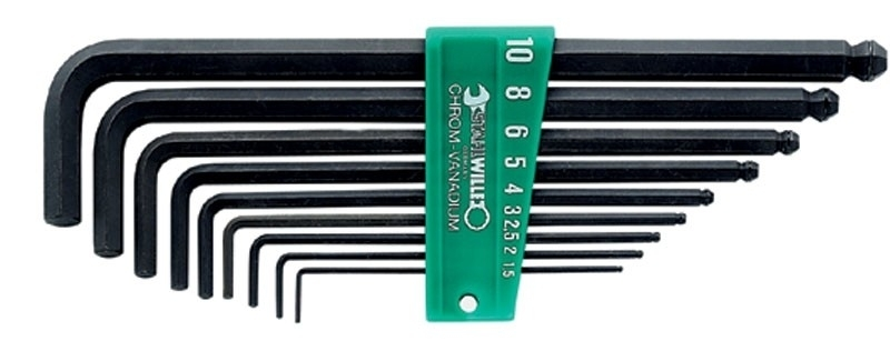 Stahlwille 10767/9 inbus sleutel set