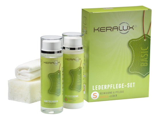 Keralux® set S - voor gewaxt/geolied leer