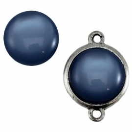 Cabochon Polaris 20mm shiny denim blue 11699