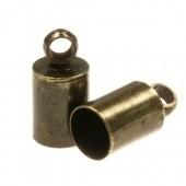 Eindkapje voor 4mm antiekbrons