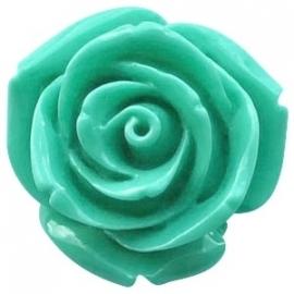 Roosje 15x7mm pacific turquoise green